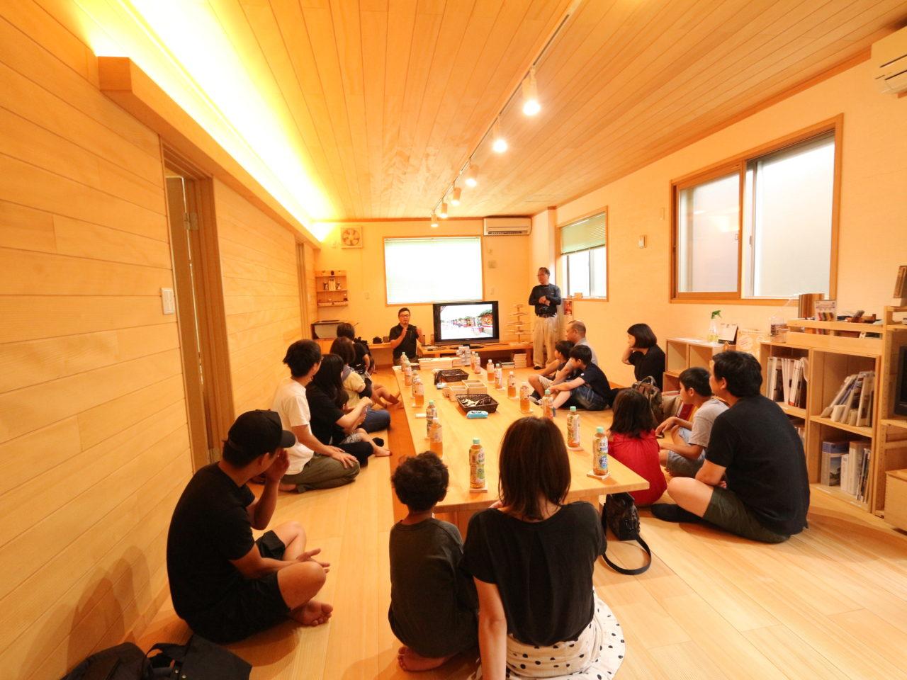 8月のモミカフェ×木工教室